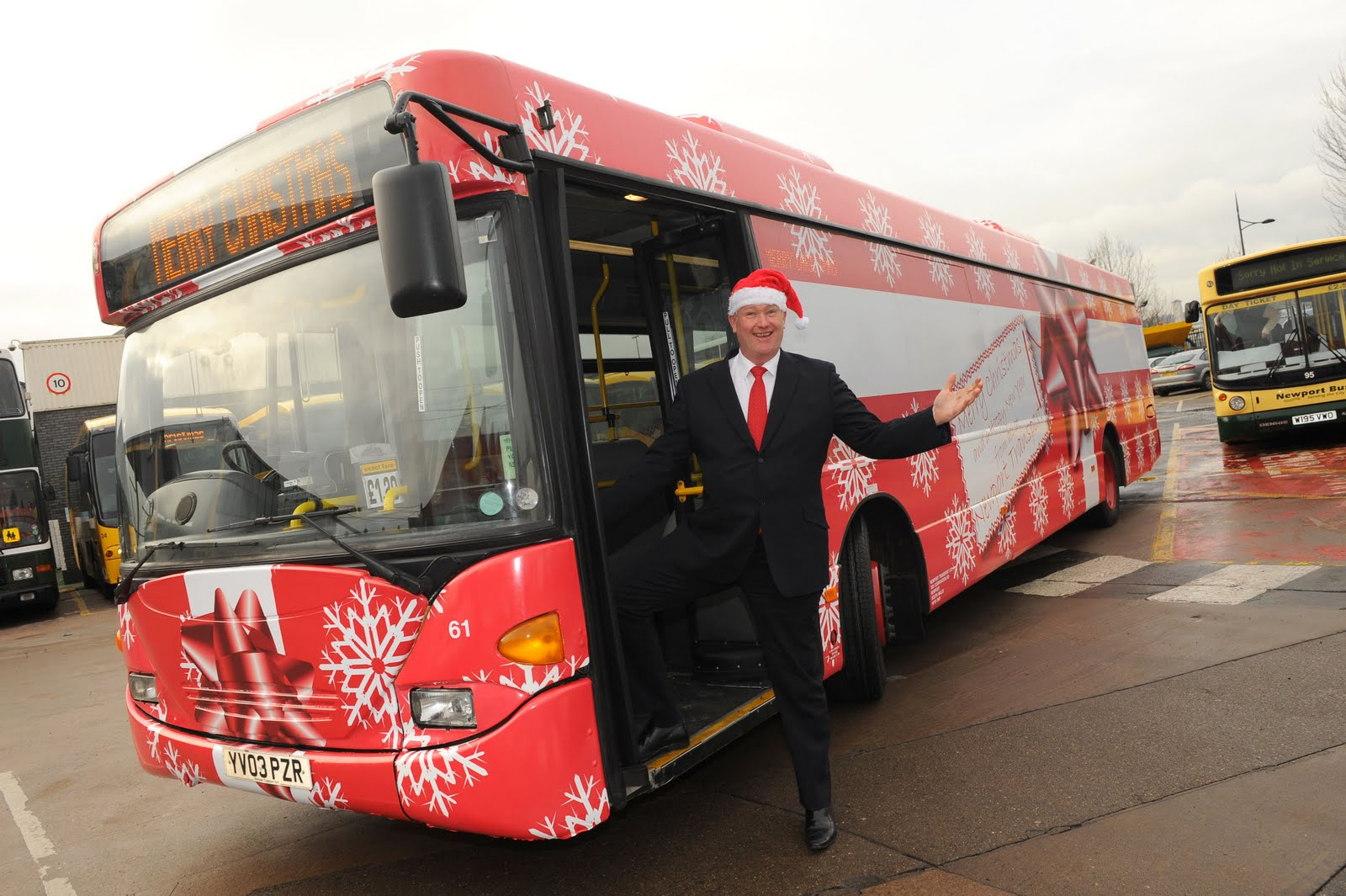 FREE BUS RIDES FOR CHRISTMAS | Newport City News